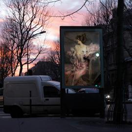 OMG who stole my ads? Milano e Parigi tappezzate di quadri da Etienne Lavie