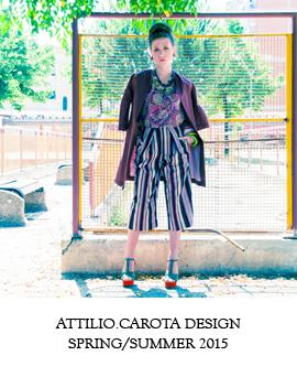 attilio.carota design, Spring/Summer 2015