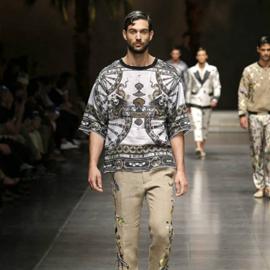 Dolce&Gabbana Spring/Summer 16, alla MFW la Sicilia incontra la Cina